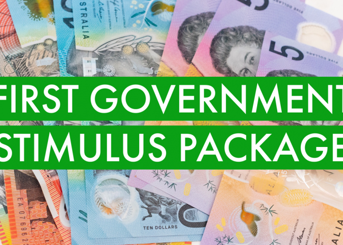 First Government Stimulus Package
