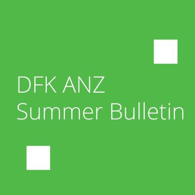 DFK ANZ Summer Bulletin