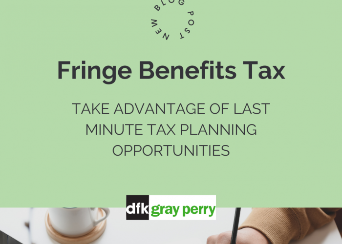 Fringe Benefits Tax – End of Year 31st March