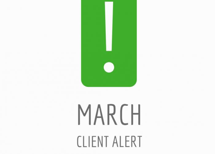 March Client Alert