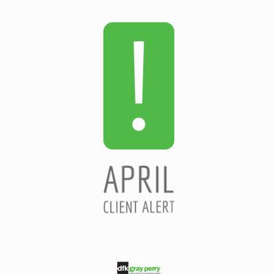 April Client Alert
