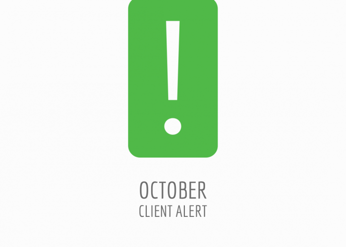 October Client Alert